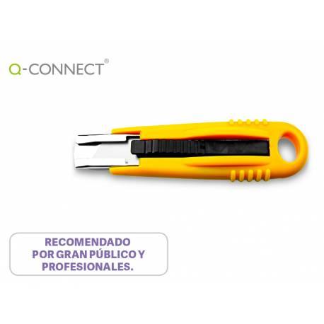 Cuter de seguridad Q-connect Cuchilla retractil KF14624