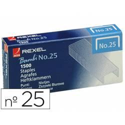 Grapas Rexel nº 25