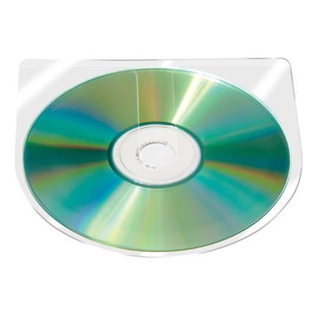 Funda autoadhesiva para CD Q-Connect