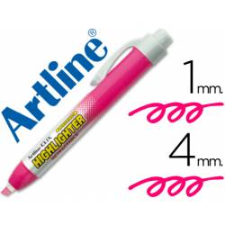 Rotulador Artline clix rosa fluorescente 4mm