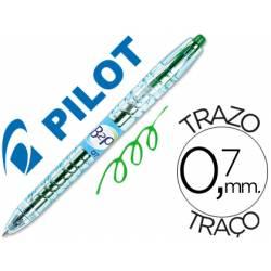 Boligrafo Pilot B2p Verde 0,7 mm