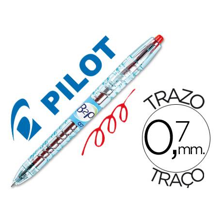 Boligrafo Pilot B2p Rojo 0,7 mm