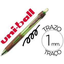 Bolígrafo marca Uni-ball power tank eco negro 1mm