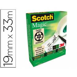 Cinta adhesiva Scotch Magic invisible
