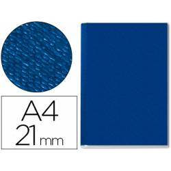 Tapa de Encuadernación Cartón Leitz A4 Azul 210 hojas