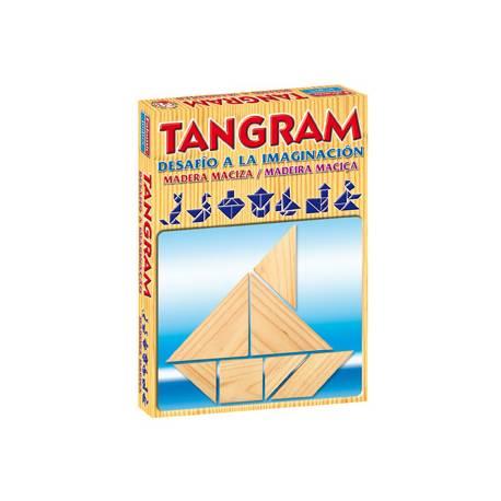 Juego de mesa Tangram madera Falomir Juegos