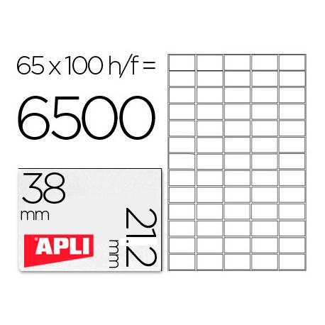Etiquetas Adhesivas Apli 38 x 21,2 mm