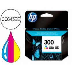 Cartucho marca HP 300 Tricolor CC643EE