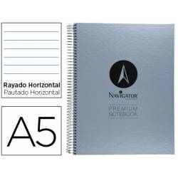 Bloc Din A5 espiral Microperforado serie Premium Navigator