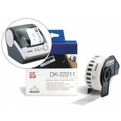 Etiquetas impresora Brother DK-22211
