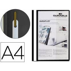 Carpeta dossier fastener duraplus Durable Din A4 negro