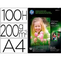 Papel Foto Semi-Glossy 200 g/m2 Din A4 HP