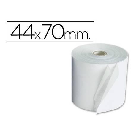 Rollos Electra para sumadoras. Medidas 44x70 mm. Mandril 12 mm.