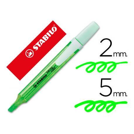 Rotulador Swing Cool Stabilo Color Verde