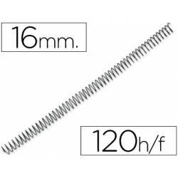 Espiral metalica Yosan paso 64 16 mm