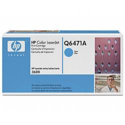 Toner HP 502A Q6471A color Cian