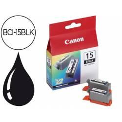 Cartucho Canon 8190A002 Nº BCI‑15BLK(2) Negro