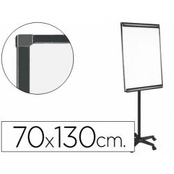 Pizarra Blanca Lacada Magnetica Movil con Ruedas 70x103 Q-Connect