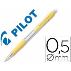 Portaminas Pilot Super Grip amarillo