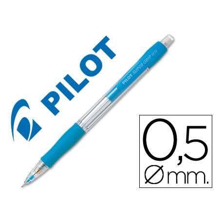 Portaminas Pilot Super Grip celeste