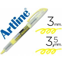 Rotulador Artline EK-640 Fluorescente Amarillo Punta biselada