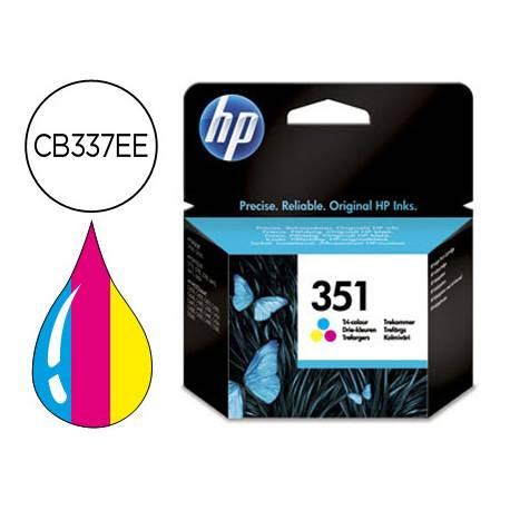 Cartucho HP 351 Tricolor CB337EE