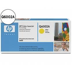 Toner HP 124A Q6002A Amarillo