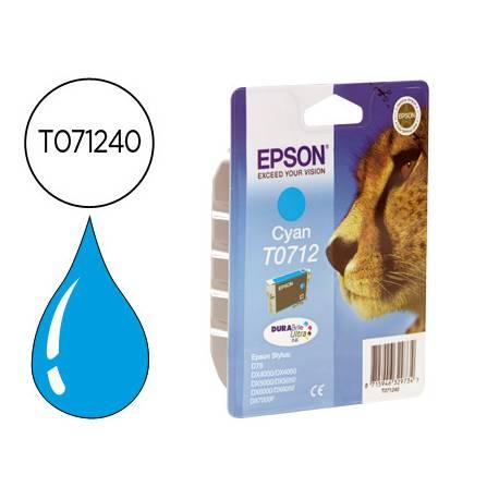 Cartucho Epson T071240 Cian