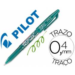 Boligrafo Borrable roller Pilot Frixion 0,4 mm Color Verde