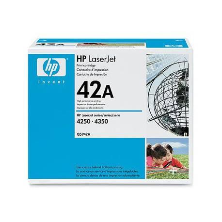Toner HP 42A Q5942A Negro