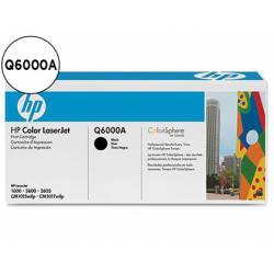 Toner HP 124A Q6000A color Negro