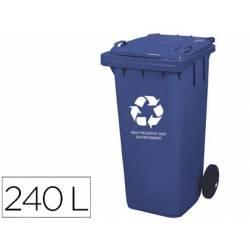 Contenedor de plastico Q-Connec 240 L