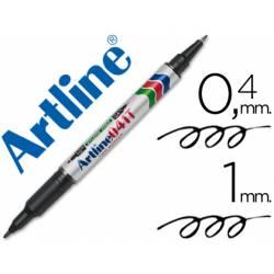 Rotulador Artline EK-041T Permanente Negro