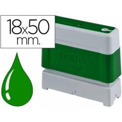 Sello Automatico Brother 18 x 50 verde