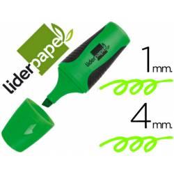Rotulador Liderpapel mini verde
