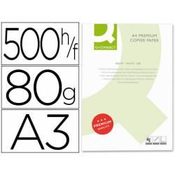 Papel multifuncion A3 Q-Connect 80 g/m2