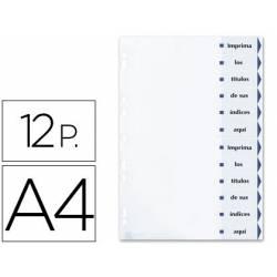 Separadores de cartulina imprimibles Avery A4 Juego de 12
