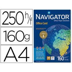 Papel multifuncion A4 Navigator 160 g/m2