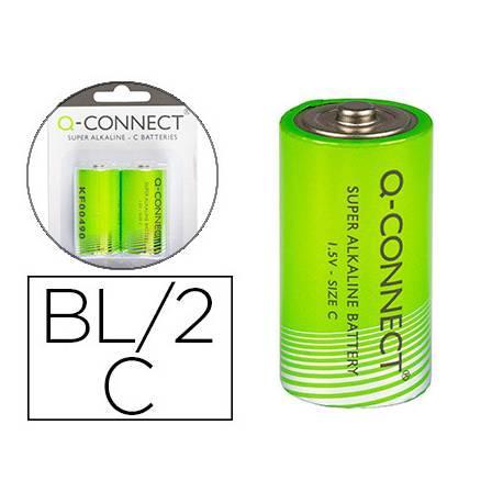 Pila alcalina Q-connect C