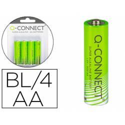 Pila alcalina Q-connect AA