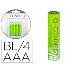 Pila alcalina Q-connect AAA