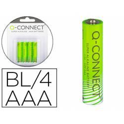 Pila alcalina Q-connect AAA