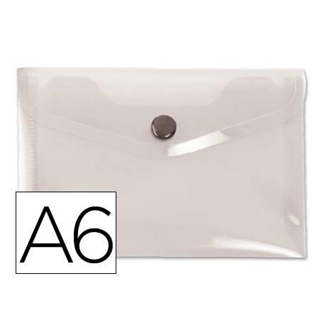 Carpeta sobre Liderpapel broche transparente Din A6