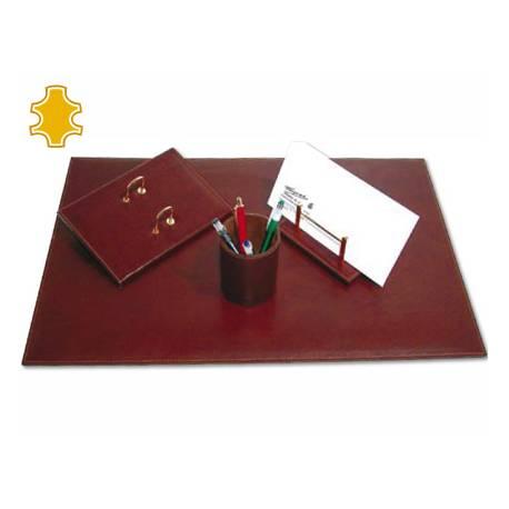 Escribania de Sobremesa piel base de madera