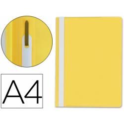 Carpeta dossier fastener Q-Connect Din A4 amarillo
