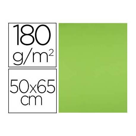 Cartulina Liderpapel 180 g/m2 color verde hierba