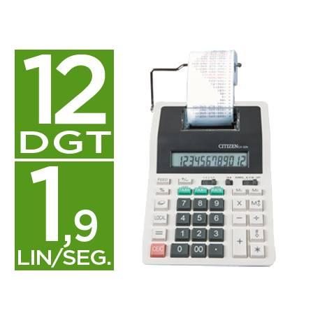 Calculadora Impresora Citizen CX-32N 12 digitos