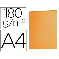 Subcarpeta cartulina Din A4 Liderpapel naranja intenso 185 g