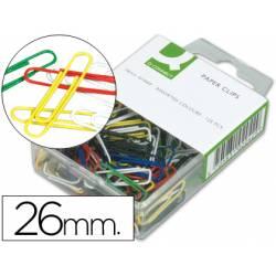 Clips colores Nº 1,5 Q-Connect 26 mm