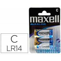 PILA MAXELL ALCALINA 1,5 V TIPO C LR14 BLISTER DE 2 UDS